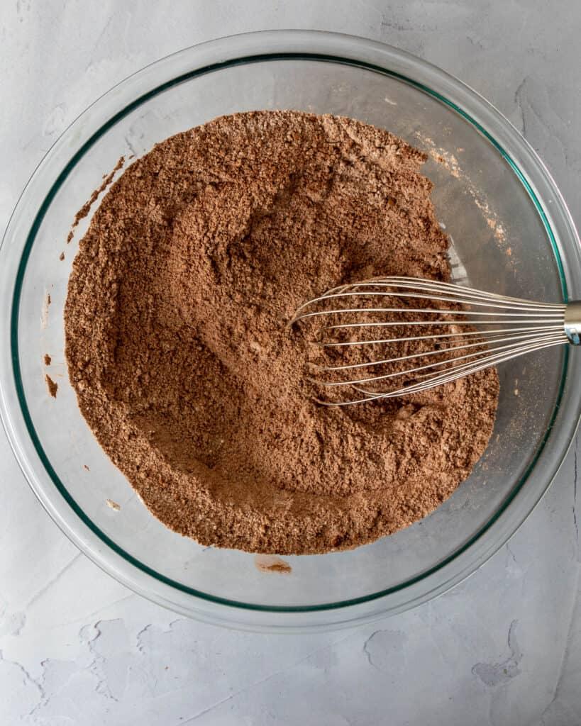 Gluten Free Chocolate Cake dry ingredients