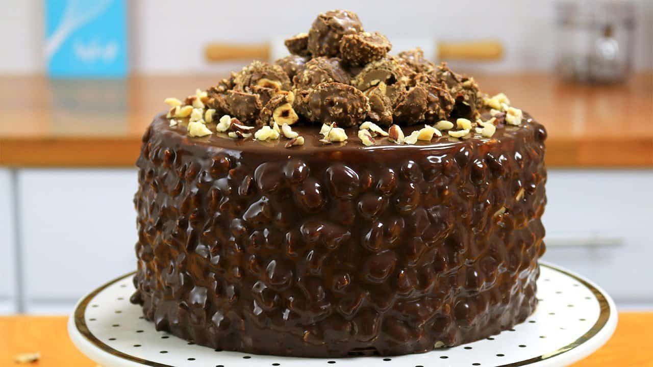 Swiss Hazelnut Sponge Cake Recipe
