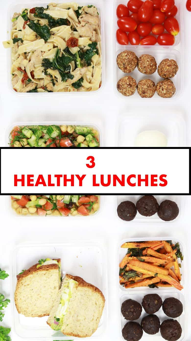 3 healthy back to school lunches, back to school lunches, back to school lunch 2017, work lunches, back to school lunch ideas youtube, healthy back to school lunches and snacks, healthy lunch ideas for school teenage, healthy lunch ideas for school lunch boxes, healthy lunch ideas for school, Healthy Back to School Lunches Made Easy
