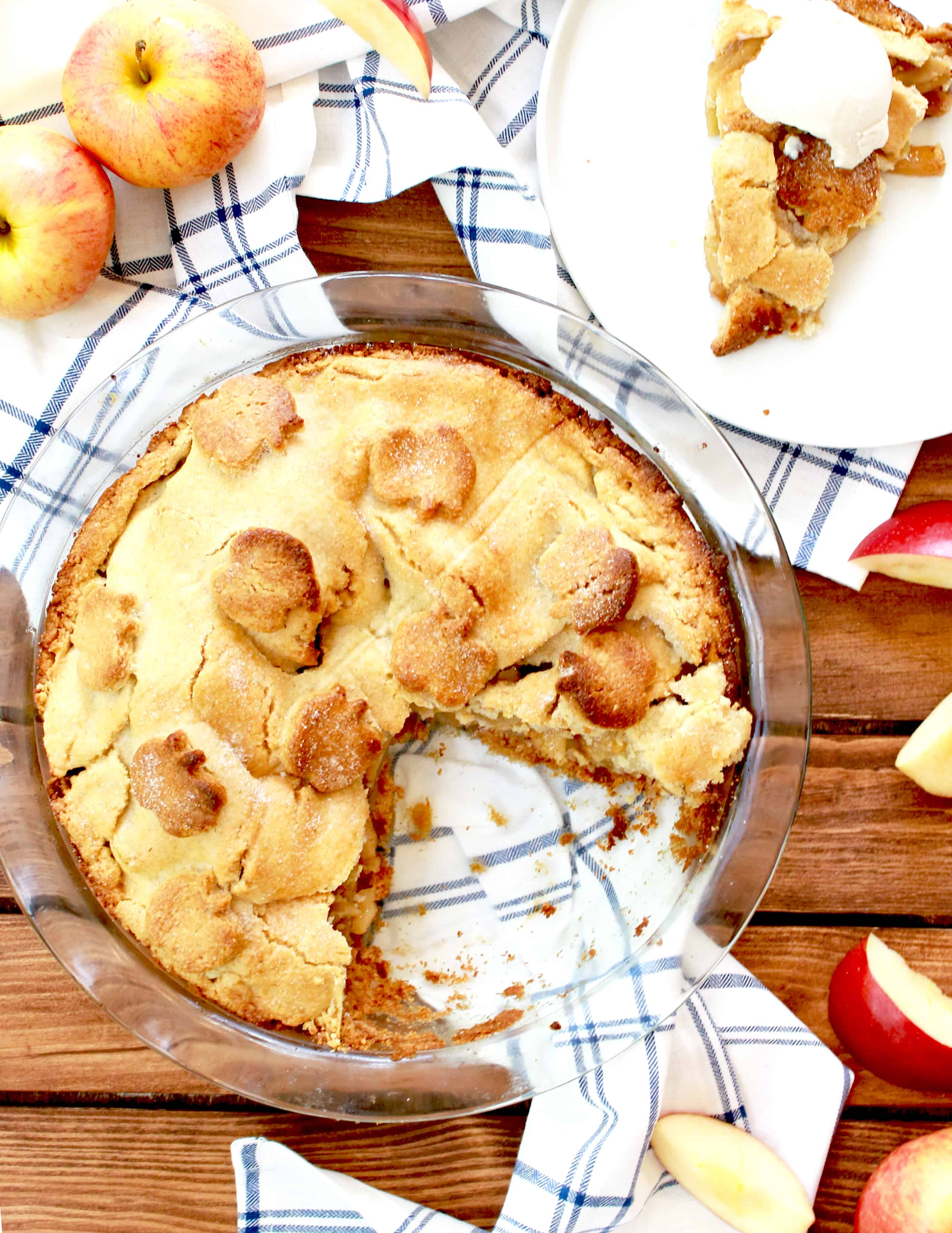 rosh Hashanah healthy apple pie, Healthy Apple Pie, rosh Hashanah apple pie, rosh Hashanah desserts, apple pie, rosh Hashanah recipes, rosh hashana recipes, rosh Hashanah desserts, holiday recipes, holiday baking, healthy rosh Hashanah recipes, tasty recipe