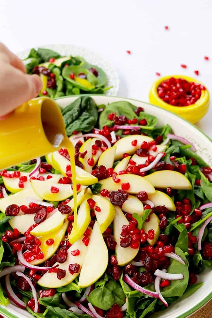 rosh Hashanah healthy apple pie, Healthy Apple Pie, rosh Hashanah desserts, pomegranate pear salad, rosh Hashanah recipe, rosh Hashanah salad, healthy, cooking, salad recipe