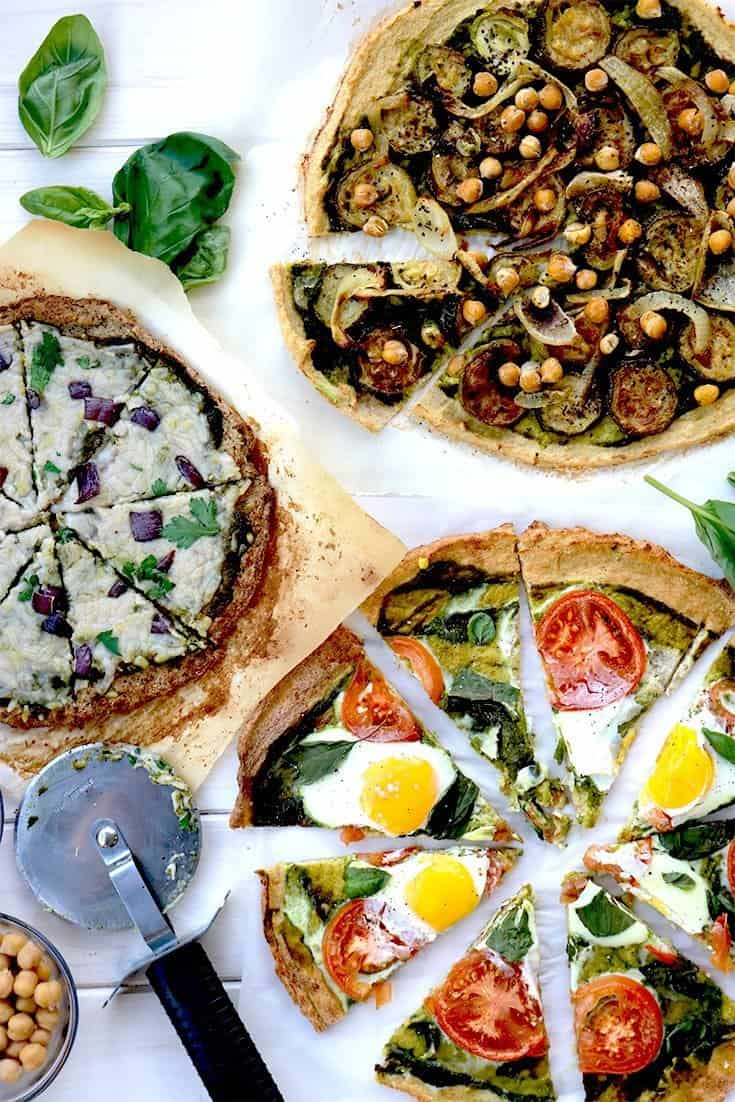 cauliflower pesto pizza, Cauliflower pizza, cauliflower, pizza, healthy pizza, pesto, pesto pizza, homemade pesto, healthy recipes, new year recipes, cauliflower dinner, dinner ideas, egg pizza, vegan cheese pizza, grilled vegetables, healthy pizza recipe, healthy pizza recipes, cauliflower crust, cauliflower pizza crust, healthy food, recipes, how to cook