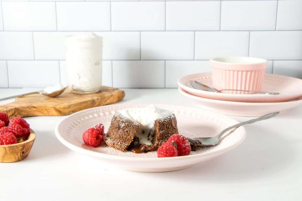 Gluten-Free Molten Chocolate Lava Cake