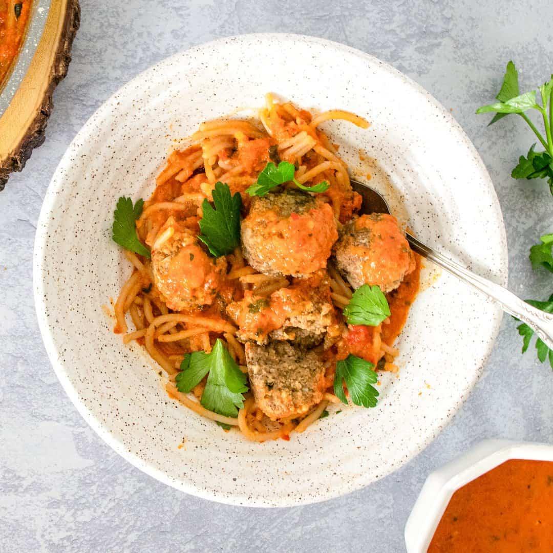 Gluten-Free Meatless Meatballs