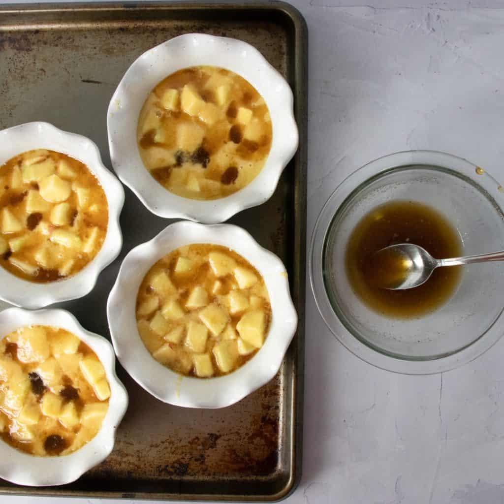 Gluten Free Apple Pudding Cake