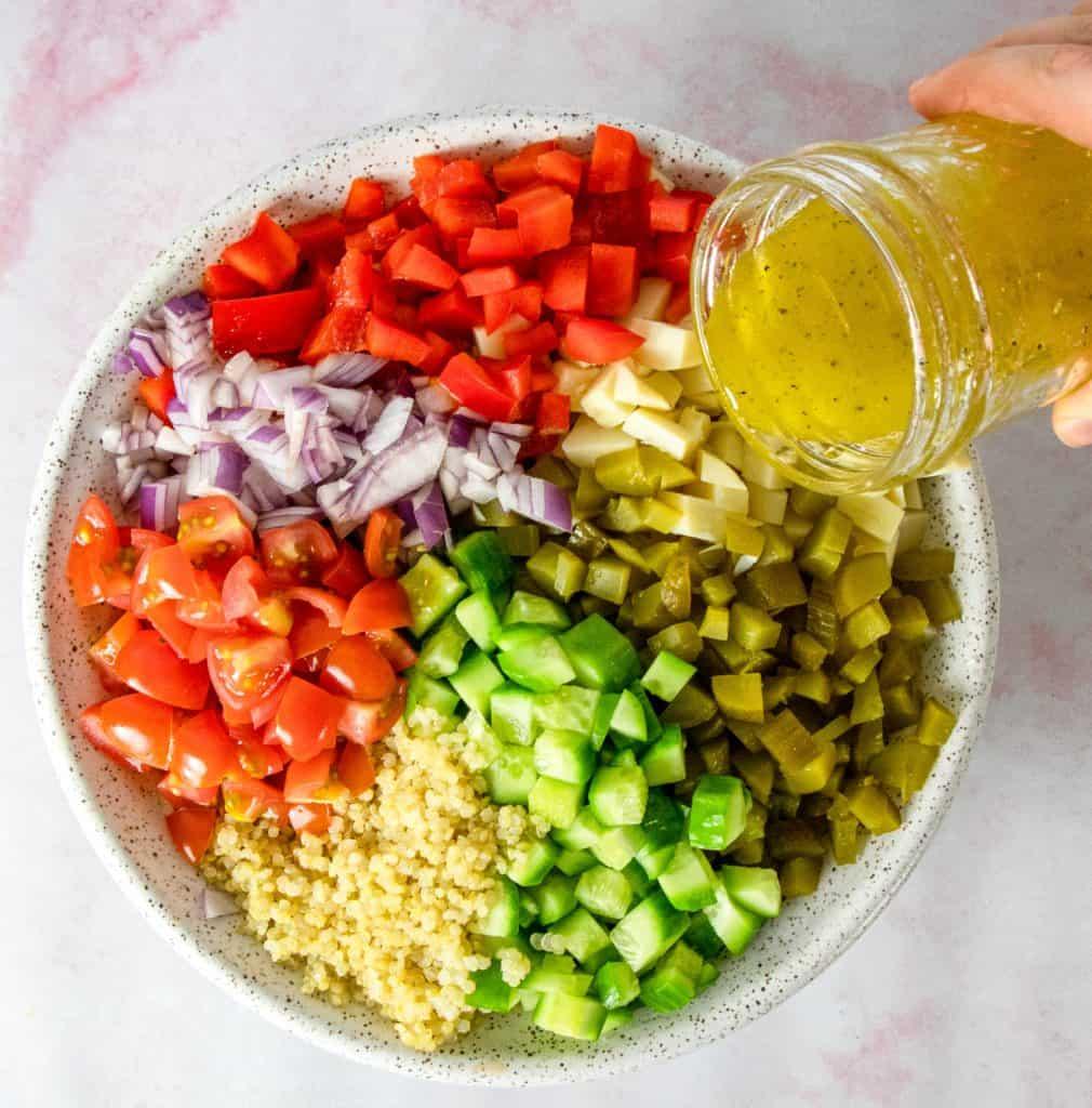 Hearts of Palm Quinoa Salad
