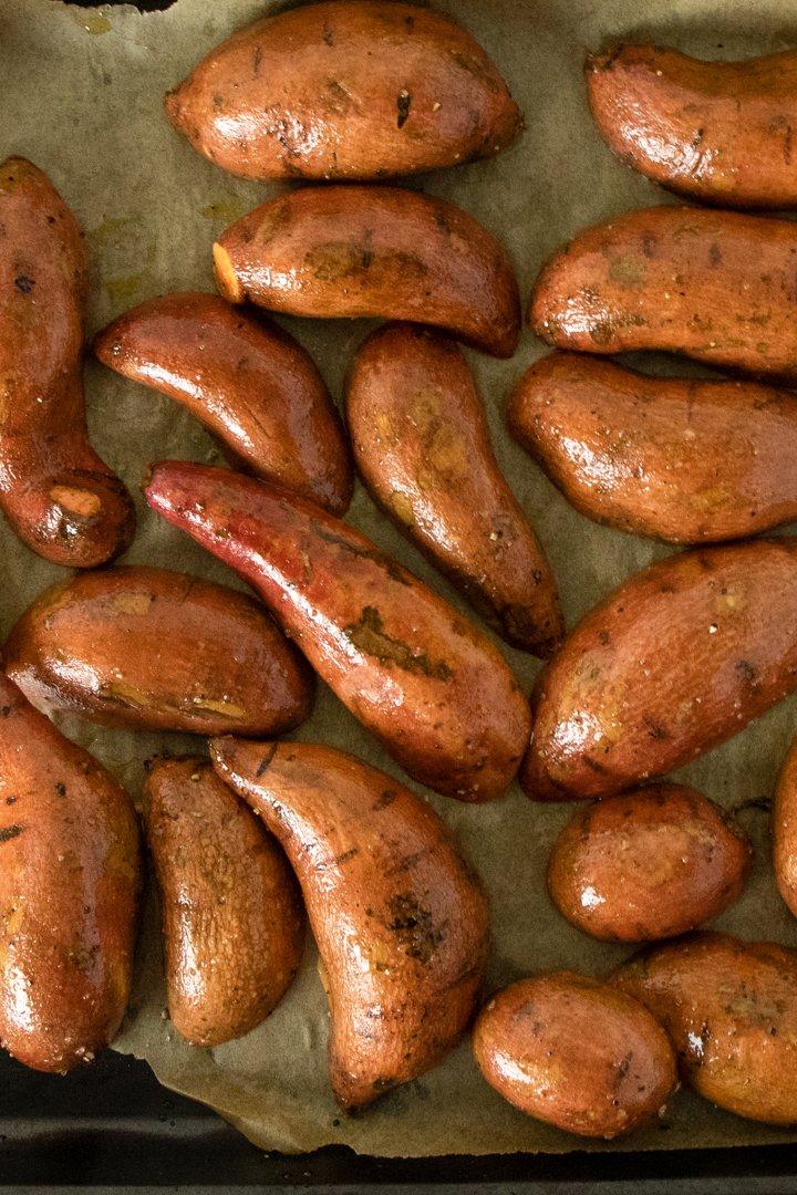 Chimichurri Sweet Potatoes