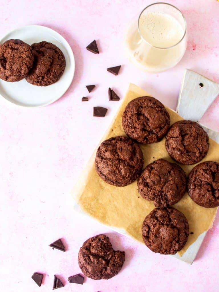 Chocolate Fudge Cookies13