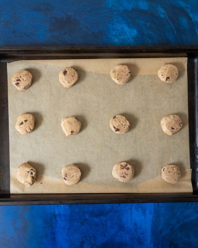 sweet loren's cookie dough portions