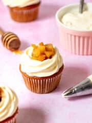 Apple Pie Honey Cupcakes Wilton