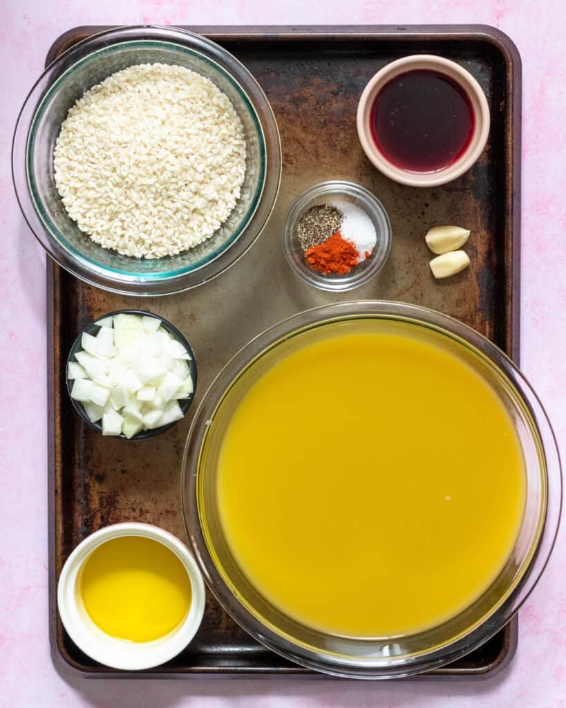 risotto ingredients gluten free